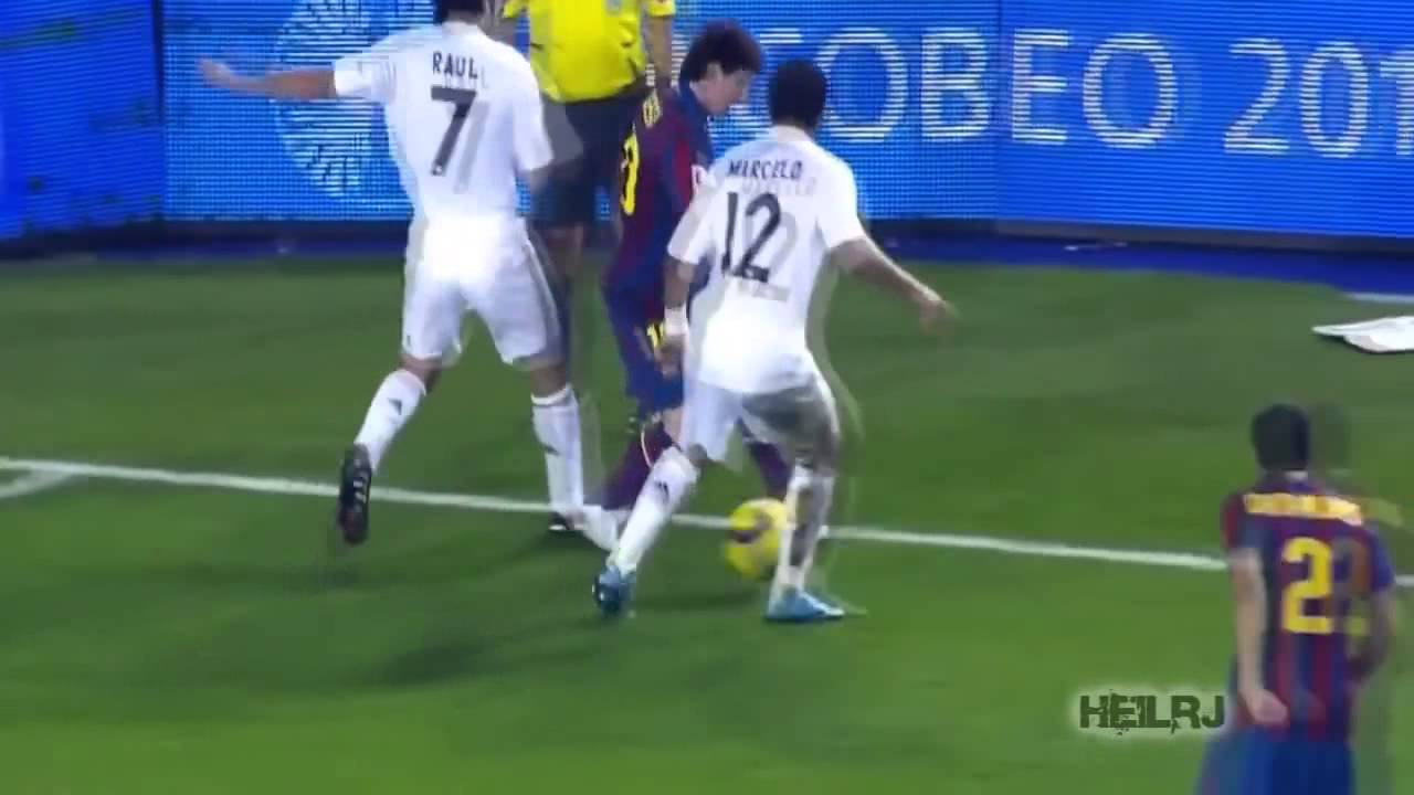Download Lionel Messi ● Dribbling Skills vs Real Madrid HD