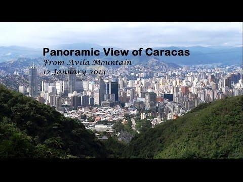 Panoramic View of Caracas