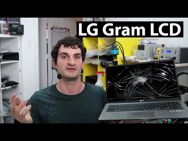 How to replace Screen for LG Gram laptop