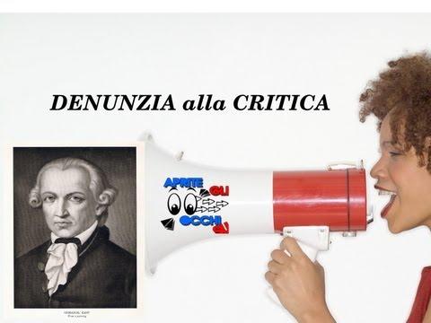 Denunzia alla CRITICA