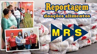 MRS logística doa cestas básicas para AACI