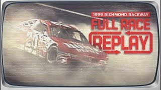 NASCAR Full Race: Tony Stewart's first Cup Series win | 1999 Richmond Raceway