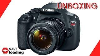 Unboxing - Canon EOS Rebel T5 - Câmera Digital (+ Testes)
