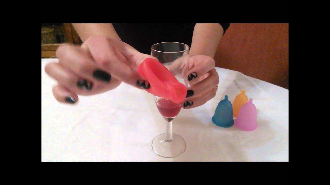 8 Dobleces Para Insertar La Copa Menstrual By El Punto Rosado