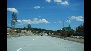 Interstate 80 East Over Donner Summit