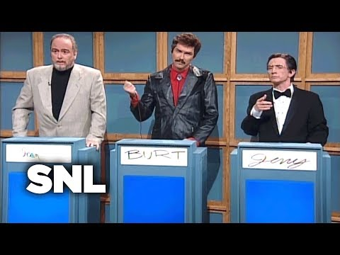 Celebrity Jeopardy!: Sean Connery, Burt Reynolds, Jerry Lewis  SNL