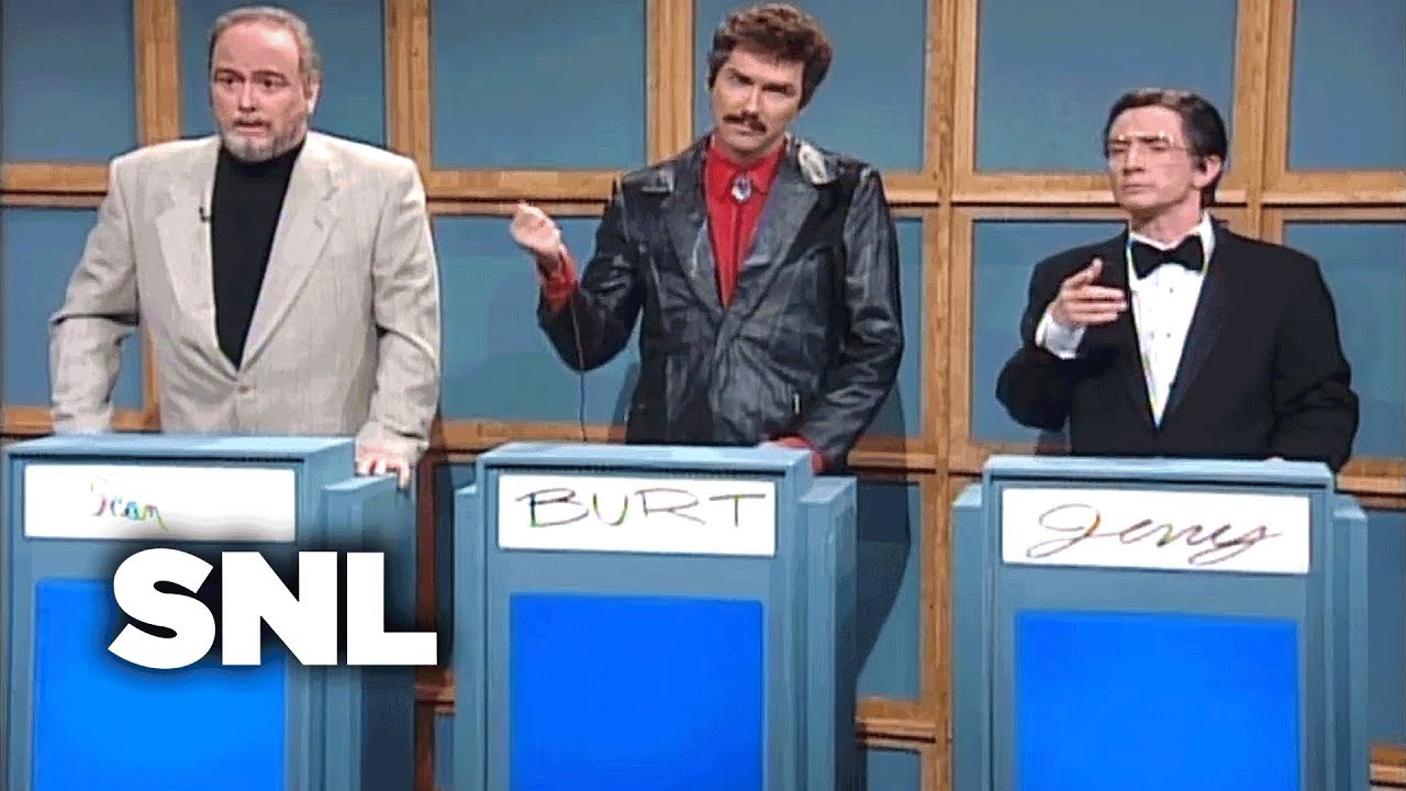 Celebrity Jeopardy w_ Hanks, Connery, and Reynolds ...