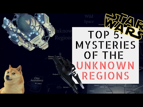 5 Strange Things in the Unknown Regions | Star Wars Ranked
