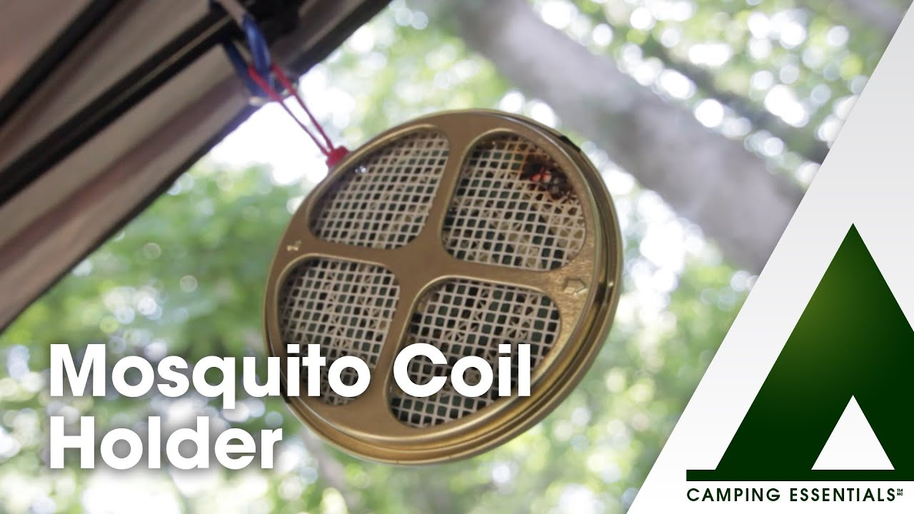 Camping Essentials Mosquito Coil Holder Youtube