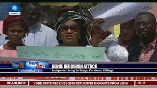 Benue Herdsmen Attack: Indigenes Living In Enugu Condemn Killings