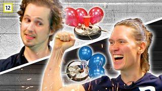Roomba Wars - PelleK vs. Lasse Gjertsen