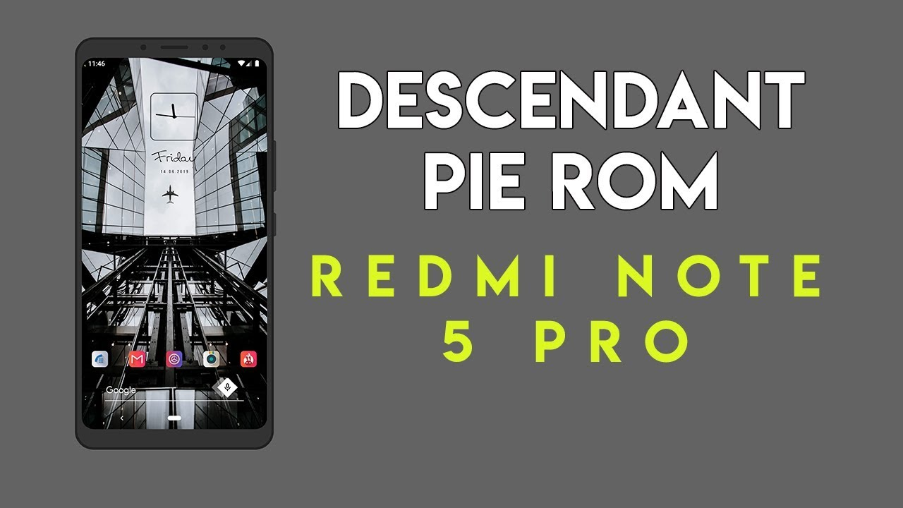 DESCENDANT PIE ROM REVIEW for REDMI NOTE 5 PRO | HINDI