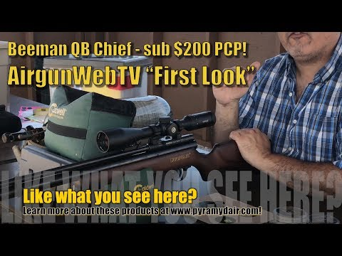 Beeman QB Chief Sub $200 PCP - Elevated To A 2017 GAME CHANGER! By AirgunWebTV