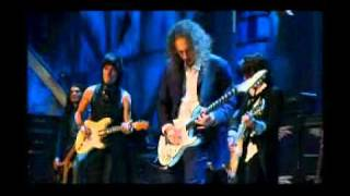 Jeff Beck, Jimmy Page, Ron Wood, Joe Perry, Flea and Metallica - The Train Kept A-Rollin´.AVI