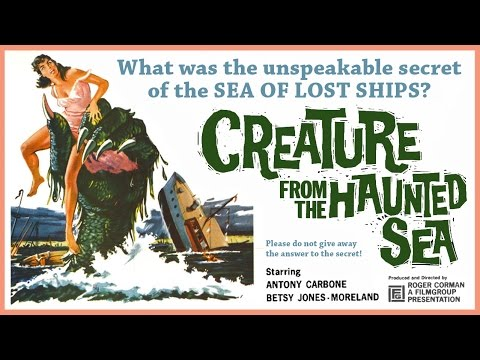 Creature From The Haunted Sea (1961) Trailer - B&W / 1:33 mins