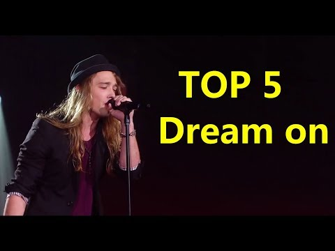 TOP 5 Dream on   Global VOICE   Blind Auditions