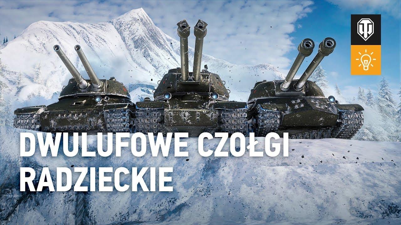 Wersja 1.7.1 - dwulufowe czołgi radzieckie [World of Tanks Polska]