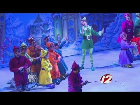 A behind the scenes look at Elf at PPAC!