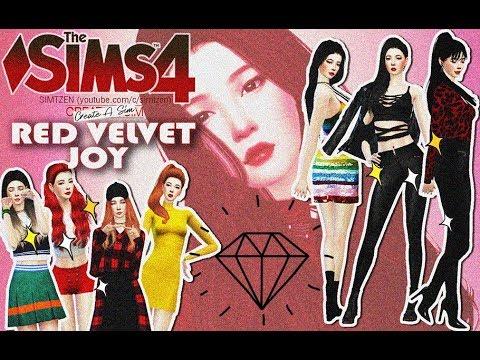 5416a0a85c8 RED VELVET CAS Collab - The Sims 4 : 'Joy' Park Sooyoung   ❖ DL + ...