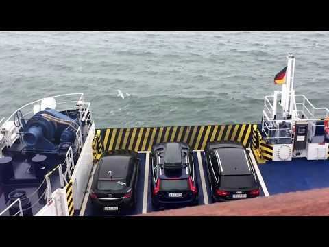Gedser to Rostock ferry ride