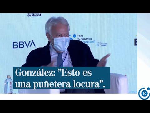 Felipe Gonzlez no entiende el estado de alarma aprobado por Pedro Snchez y cree que los Presupuestos nacen desfasados