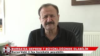 Bursa'da 7 şiddetinde deprem bekleniyor!