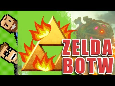 HOTTER THAN VANNA WHITE? | YOU CHOOSE! Tell Us How to Play ZELDA BotW | The Basement | Ep64