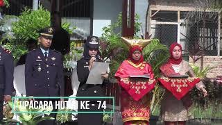 PERINGATAN HUT RI KE - 74 TAHUN 2019 KANWIL KEMENKUMHAM SUMBAR