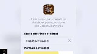 TUTORIAL   VOTACIÓN Golden Disc Awards 🏆