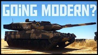 Going Modern? || Leopard 2a6 Mission (War Thunder Gameplay)