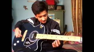 Ishq wala love explanation on guitar on single string for beginners