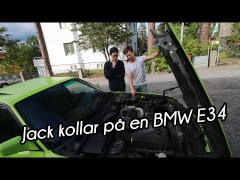 Kollar på en BMW E34 | VLOGG #232