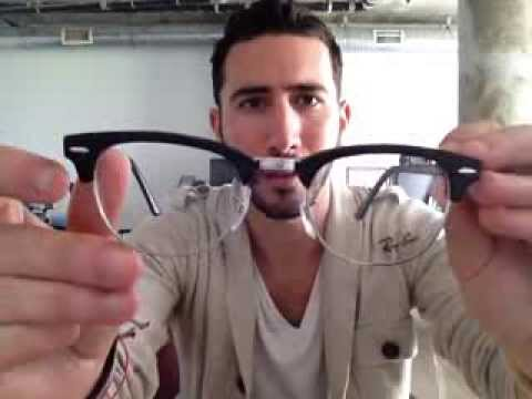 clubmaster acetate sunglasses  Ray-Ban RX 5154 Clubmaster Glasses Review - YouTube