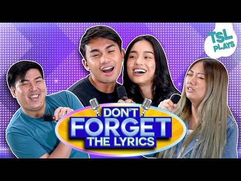 TSL Plays: Don't Forget The Lyrics ('00s Songs Edition)