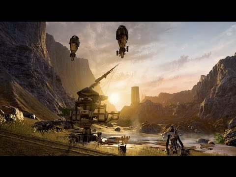 Mass Effect Andromeda Game Awards Gameplay Demo in 4K Movie Poster
