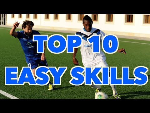 TOP 10 EASY SKILL MOVES TO USE IN A MATCH- THE ULTIMATE SKILL MOVES TO BEAT DEFENDERS