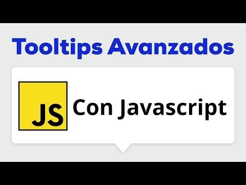 Como hacer un Tooltip Avanzado con Javascript thumbnail