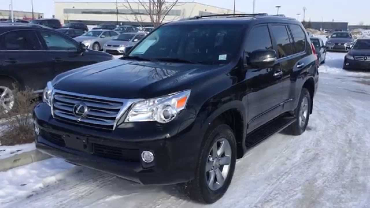 Lexus Certified Pre Owned Black 2012 GX 460 4WD Ultra Premium Package  Review Calgary
