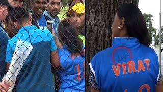 2015 World Cup: Virat Kohli breaks security cover to meet fan
