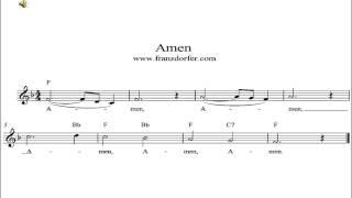 Amen - instrumental playback
