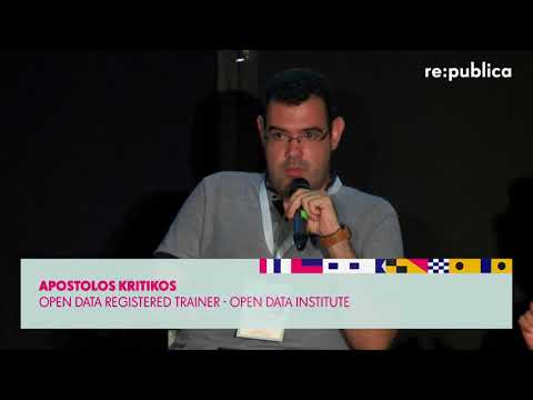 re:connecting Europe 2017 – Open data in smart cities –Enabling citizen's participation on YouTube