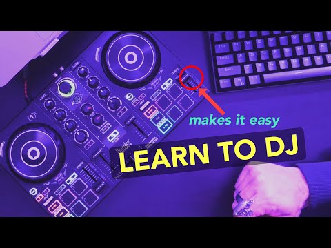 How I Learned DJ Basics | Hercules DJControl Inpulse 200
