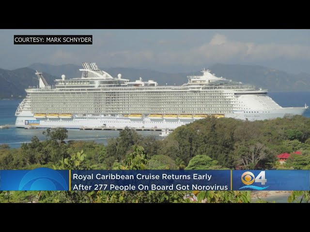 277 Cruise Ship Passengers, Crew Members Hit With Norovirus Outbreak