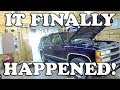 IT Finally HAPPENED - 1999 Chevy TAHOE!