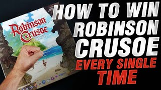 🏝️How to win Robinson Crusoe EVERY single time🏝️ | VLOG 87 #boardgames