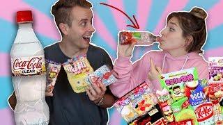 Asia Candy Challenge - Durchsichtige Coca-Cola 😲 | Bibi