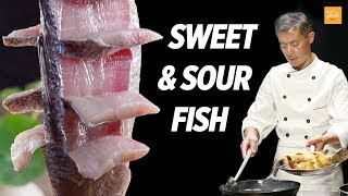 Sweet and Sour Fish by Masterchef • Taste, Authentic Chinese Food