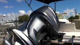2006 hurricane 217 deck boat