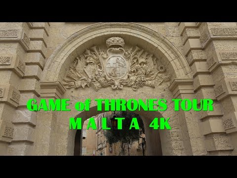 Game of Thrones Tour Malta (Highlights) 4K