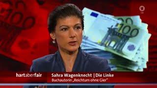 Deine Freiheit stirbt mit Sicherheit! Sahra Wagenknecht 21.03.2016 Hart aber Fair - Bananenrepublik